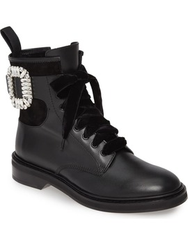 Viv Rangers Buckle Boot by Roger Vivier