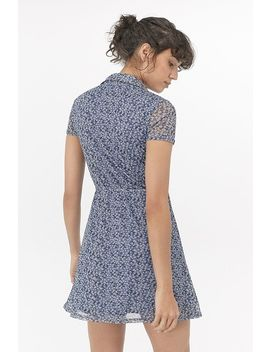 Uo Modern Mesh Mini Dress by Urban Outfitters