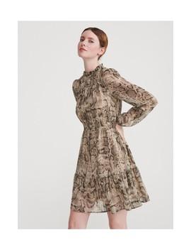 Sukienka Z Motywem Skóry Węża by Reserved