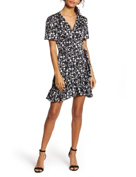 Romantic Vines Wrap Dress by 1.State