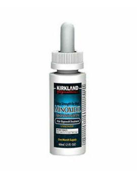 Kirkland Minoxidil 5 Extra Strength Men Hair Regrowth Solution 6 Month Supply by Kirkland Signature
