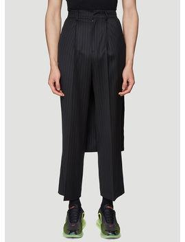 Manteau Pants In Black by Ader Error