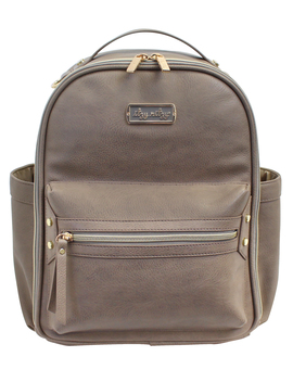 Itzy Ritzy Mini Backpack Diaper Bag, Taupe by Itzy Ritzy