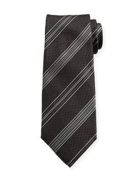 Men's Striped Silk Tie by Tom Ford