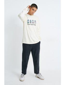 """Belief – T Shirt """"Souvenir"""" Mit Langen ÄrmelnIn Elfenbein by Belief Shoppen"""