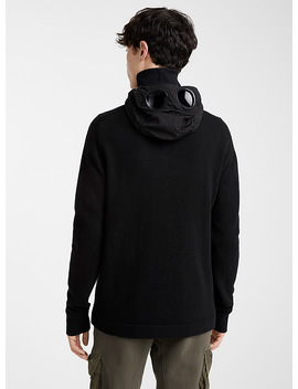 Goggle Hooded Sweater by C.P. Company