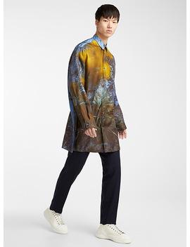 Silk Printed Shirt by Oamc