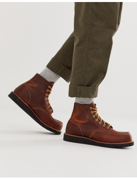 Red Wing Classic 6 Inch Moc Boots In Coppoer Rough Leather by Red Wing