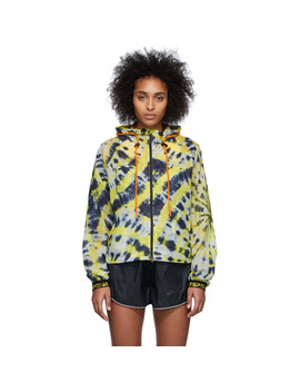 Yellow Off White Edition Nrg 1 Aop Jacket by Nike