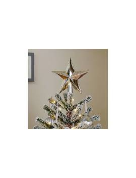 Argos Home Winters Cabin Mercury Star Tree Topper888/9412 by Argos