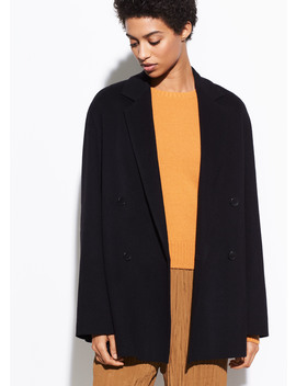 Double Breasted Caridgan Coat by Vince