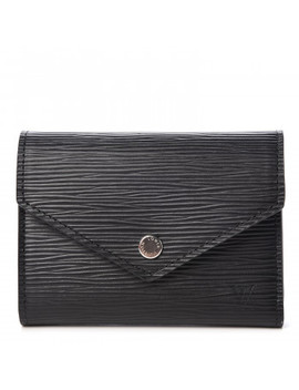 Louis Vuitton Epi Victorine Wallet Black by Louis Vuitton
