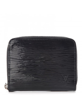 Louis Vuitton Epi Electric Zippy Coin Purse Black by Louis Vuitton