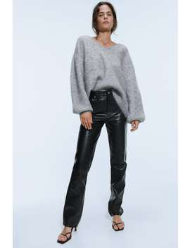 Sweater I Mohair Uld by Zara