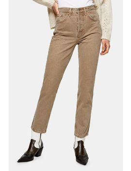 Brown Editor Jeans by Topshop