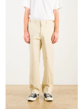 Menswear | Twill Chinos, Ecru by Olive