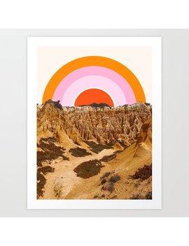 Alentejo Rainbow Art Print by Society6