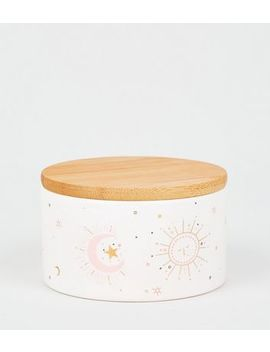 White Sun Trinket Pot by New Look