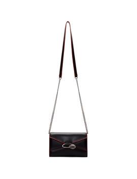 Black Small Pin Bag by Alexander Mcqueen