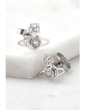 Vivienne Westwood Nora Silver Earrings by Vivienne Westwood