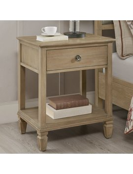 Victoria Bedside 1 Drawer Nightstand by Joss & Main