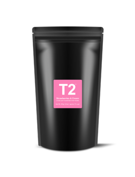 Strawberries & Cream Loose Leaf Everyday Refill by T2 Tea
