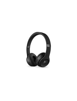 Beats Solo3 Wireless Headphones   The Beats Icon Collection   Matt Black by Apple
