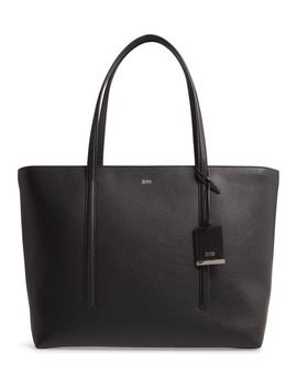 Taylor Leather Shopper by Boss