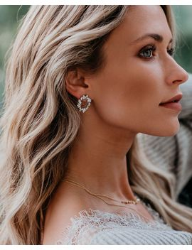 Olive + Piper – Saint Studs   Silver by Vici