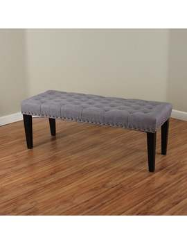 Sopri Upholstered Bench by Monsoon