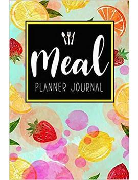 Meal Planner Journal 52 Week Meal Prep Book Diary Log Notebook Weekly Menu Food by Ebay Seller