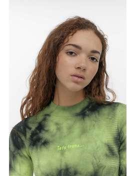 Iets Frans... – Langärmliges T Shirt Im Batiklook by Iets Frans... Shoppen