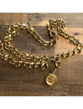 Vintage Chanel Gold Chain Belt by Chanel