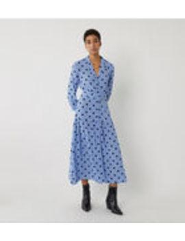 Polkadot Tiered Tea Dress by Warehouse