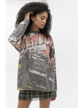 """Urban Outfitters – Langärmliges Skater T Shirt """"Adventure"""" by Urban Outfitters Shoppen"""