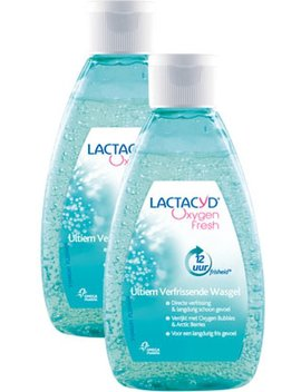 Lactacyd Oxygen Fresh Int Wash   2x 200ml   Intieme Hygiëne by Lactacyd
