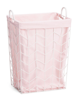 Metal Laundry Hamper With Linen Liner by Tj Maxx