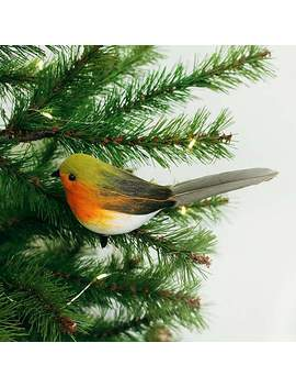 Robin With Clip by Dunelm