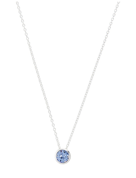 Sterling Silver Necklace With Swarovski® Pendant by Accessorize