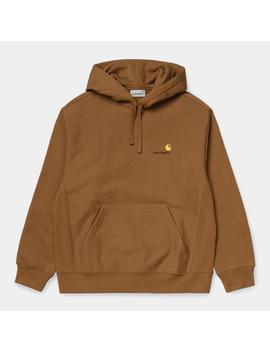 Hooded American Script Sweatshirt by Carhartt Wip