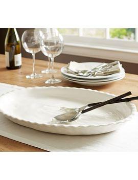 Napoli Oval Serving Platter by Pottery Barn