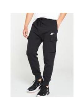 Sportswear Club Fleece Cargo Joggers   Black by Nike