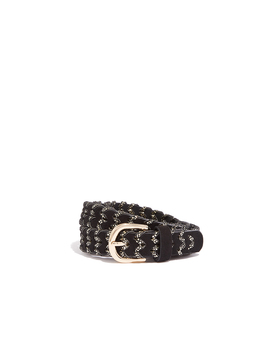 Woven Shimmer Belt by Oasis