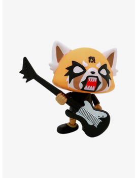 The Loyal Subjects Aggretsuko Death Metal Guitar Action Vinyl Summer Convention Exclusive by Hot Topic