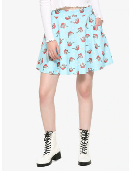 Ramen Cat Skater Skirt by Hot Topic