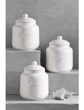 Set Of 3 Aurelia Storage Jars by Next