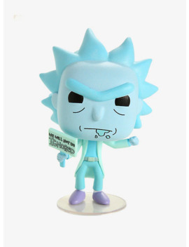 Funko Rick And Morty Pop! Animation Hologram Rick Clone Glow In The Dark Vinyl Figure Hot Topic Exclusive by Hot Topic