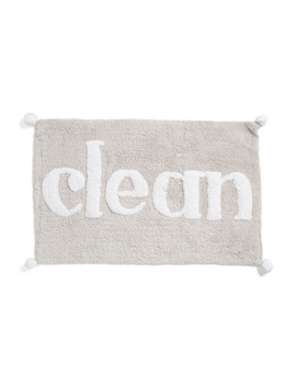 20x32 Clean Bath Rug by Tj Maxx