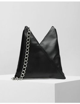 Japanese Chain Leather Small Bag by Maison Margiela