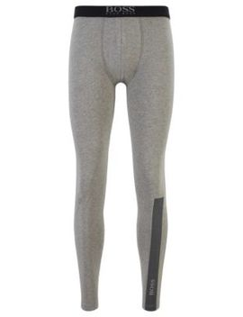 Long Johns In Stretch Cotton With Logo Details Long Johns In Stretch Cotton With Logo Details by Boss